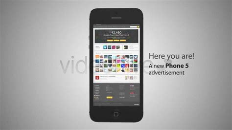 Iphone 5 Advertisement After Effects Template Videohive Youtube Iphone 6 After Effects Template Free