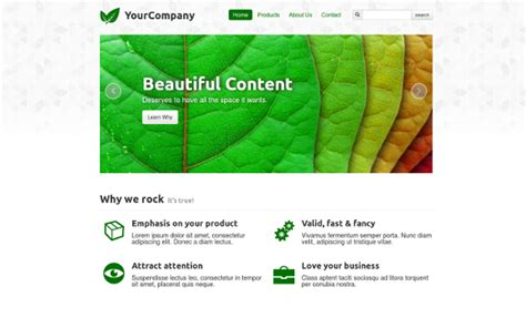 bootstrap themes green serious green business corporate wrapbootstrap