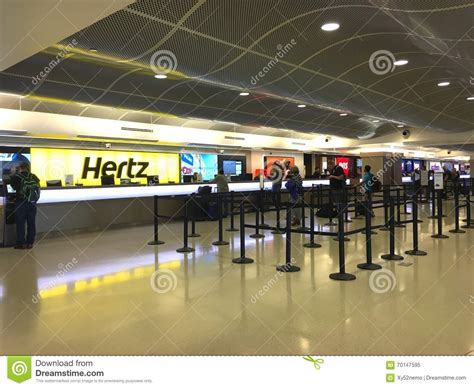 airport car rental editorial image image  cars airport