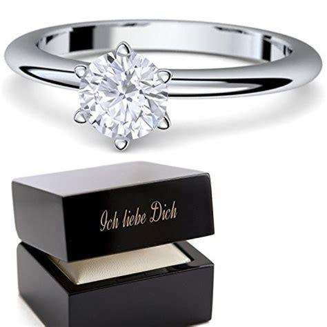Verlobungsringe Silber Mit Diamant by Ringe Verlobungsringe Mit Swarovski Elements Zirkonia