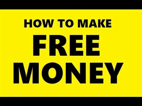 Make Money For Free Online Fast - how to make money online free easy best fast way to make 1000 per day from home