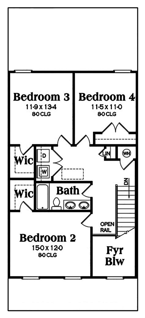 craftsman house floor plans 2018 craftsman house plan 104 1163 4 bedrm 2018 sq ft home theplancollection