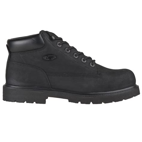 lugz drifter mens boot black black stylish footwear