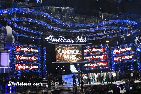 Dominate Stage At American Idol by Image Gallery Nokiatheater