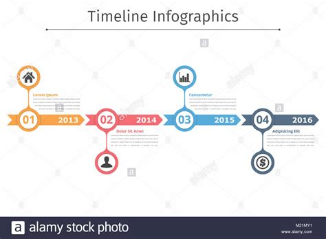 infographic flowchart template timeline infographics template with arrows flowchart
