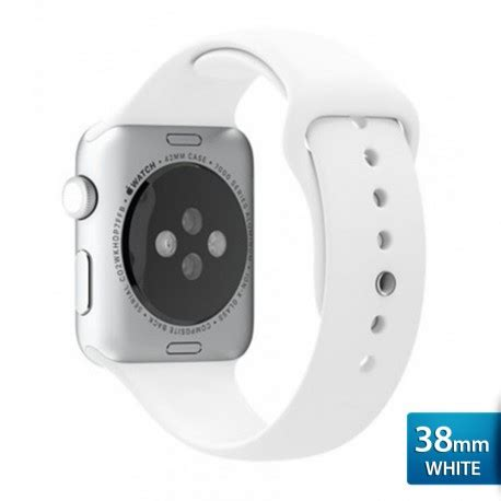 Apple Band 38mm Canvas Sport Series Tali Jam optimuz premium sport silica band for apple