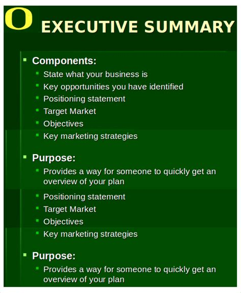 20 executive summary templates free premium templates