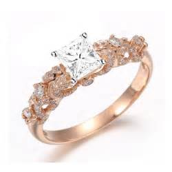 Rings diamond rings beautiful 1 carat princess diamond engagement ring