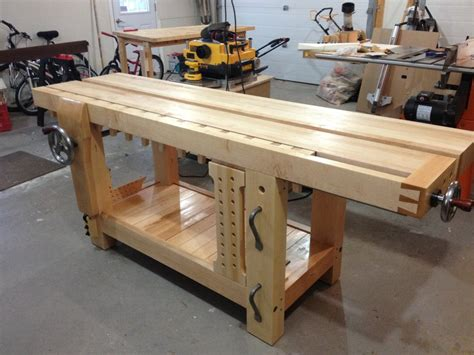 roubo bench review benchcrafted split top roubo bench makers package