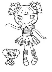 lalaloopsy coloring page lalaloopsy coloring pages for to print for free