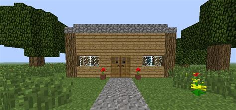 the basic house creation basic house minecraft creations wiki fandom powered by wikia