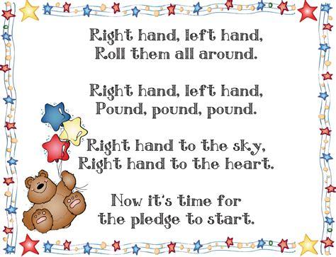 printable lyrics to the pledge of allegiance mrs solis s teaching treasures pledge of allegiance freebie