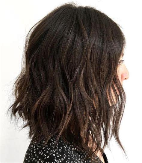 can a lob have layers 60 inspiring long bob hairstyles and lob haircuts 2018