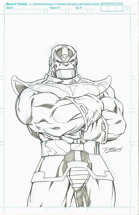 marvel thanos coloring pages 1723 best comic book and character art images on pinterest
