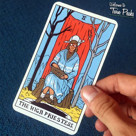 Twin Peaks Gift Card - design diary no 115eye on design eye on design