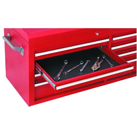 16 quot x 22 quot non slip tool box drawer solid liner black free