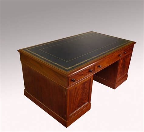antique mahogany partners desk for sale