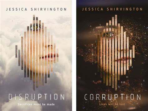 Novel Disruption review disruption and corruption by shirvington reading with book