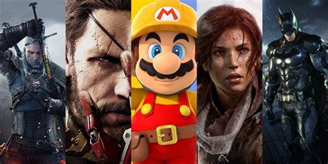imagenes asombrosas de video juegos estos son los mejores videojuegos de la historia seg 250 n la