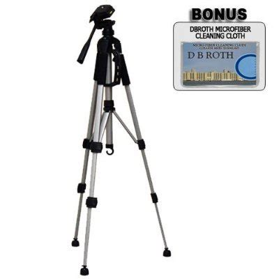 deluxe 57 inch camera tripod with carrying casefor the