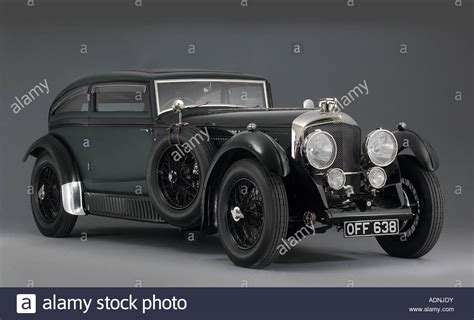 leopard 6 litre roadster 1930 bentley 6 5 litre coupe blue train stock photo