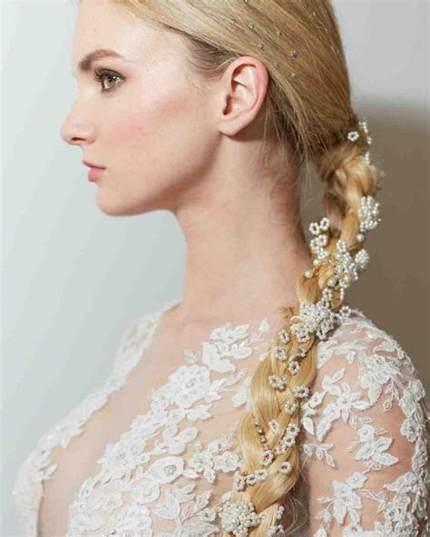 Braided Wedding Hairstyles With Tiara by The Most Beautiful Bridal Braids Hairstyles This Season