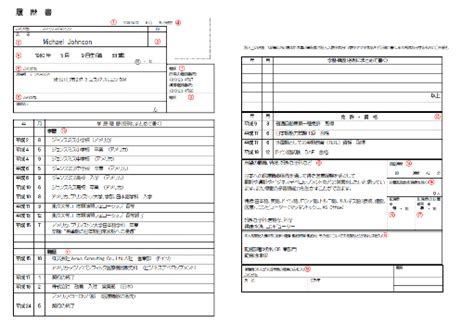 Sle Of Japanese Resume How To Write A Japanese Cv Franchir Co Ltd