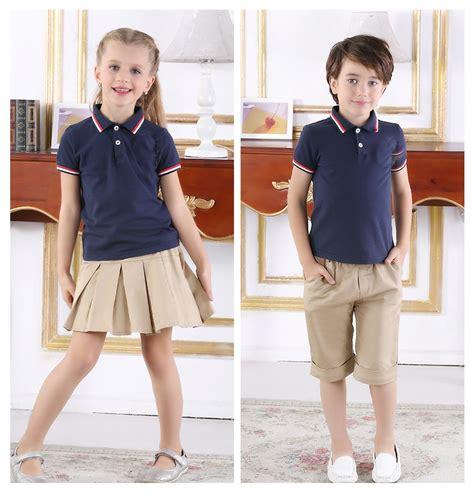 kindergarten uniform pattern customize school shirts shorts pleated skirts kindergarten