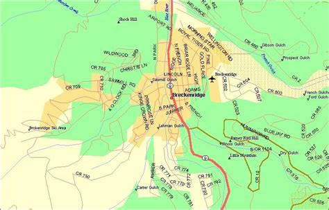 map breckenridge colorado maps of summit county towns and resorts breckenridge