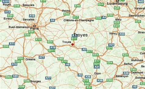 troyes map troyes location guide