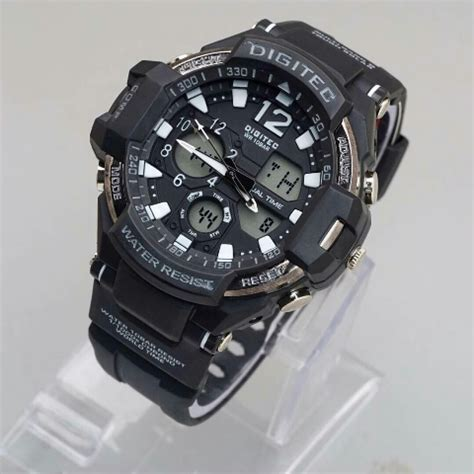 Jam Tangan Sport Pria Digitec Time Water Resist Original 63 jual jam tangan digitec dg 2094 original dualtime water