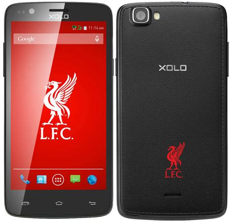 mobile phones limited xolo one liverpool fc limited edition smartphone launched