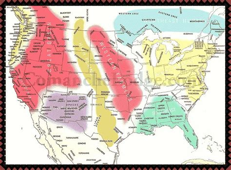 american tribes by map na nations jpg 788 215 581 american