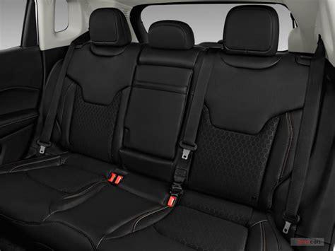 jeep compass rear interior 2017 jeep compass performance u s report