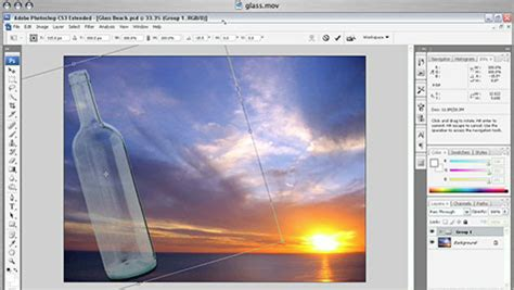 tutorial about adobe photoshop cs3 working with photoshop cs3 masking tools video tutorial