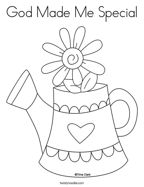 God Made Me Special Coloring Page god made me special coloring pages az coloring pages