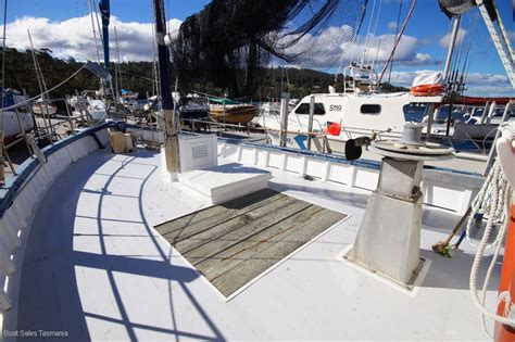 boats for sale tasmania australia max robbins timber cray boat quot otway pioneer quot power boats