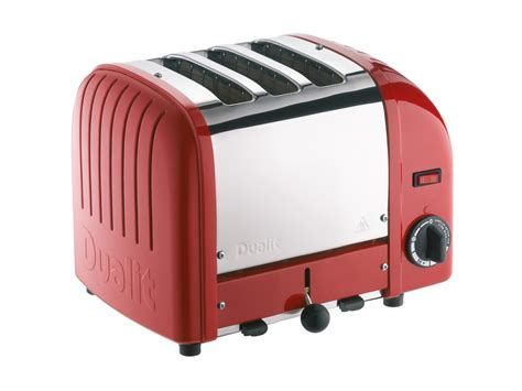 Dualit 3 Slot Toaster Red 3 Slice Toaster 3 Slot Vario Toaster From Dualit