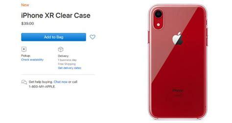 iphone xr ha la sua prima cover ufficiale sull apple store