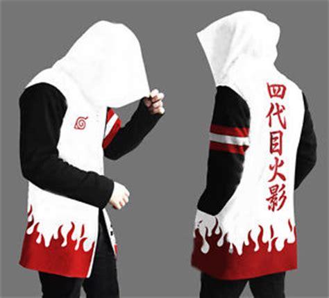Sweater Yondaime Yondaime Hokage Hoodie Sweater Jacket Ebay