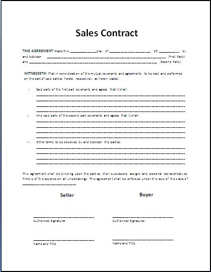 Sale Contract Lawn Care Business Pinterest Sle Business Contract Template