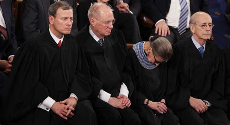 Trump Home Address by Ginsburg I Wasn T 100 Percent Sober At Sotu Politico