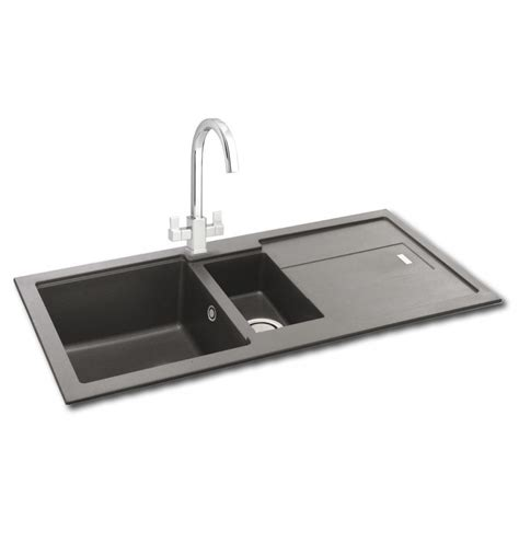 carron kitchen sinks carron phoenix bali 150 granite inset kitchen sink