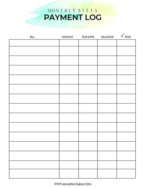 printable bill organizer spreadsheet fresh spreadsheets for bills