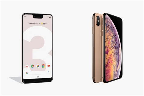pixel 3 vs iphone xs vs galaxy s9 pricing and specifications