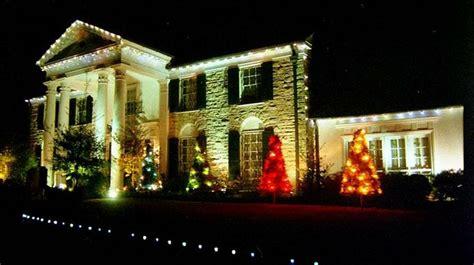 graceland memphis christmas lights 17 best images about graceland mansion memphis tennessee