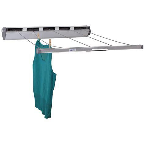 household essentials laundry household essentials retractable 5 line aluminum laundry