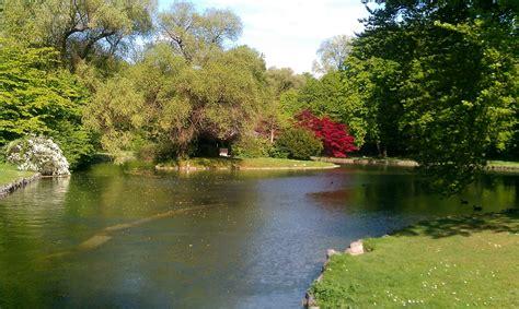 Englischer Garten River by Running Routes Munich Town Englischer Garten Isar