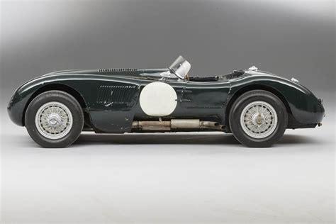 ex le ex le mans jaguar c type sells for 163 5 7m at auction