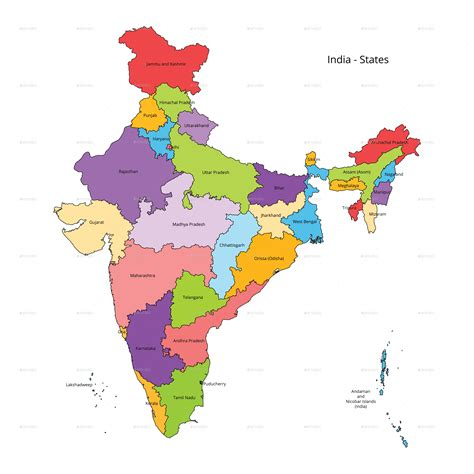 india map png india states map and outline by vzan2012 graphicriver